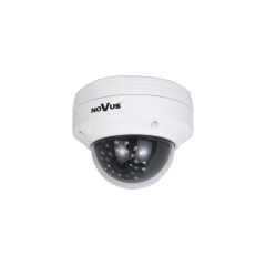 Camera video IP 1.3 Megapixel de tip Dome Antivandal, lentila fixa de 4.2 mm, NVIP-1DN3020V/IR-1P