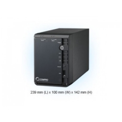 INREGISTRATOR DIGITAL IP NVR 8 CANALE COMPRO