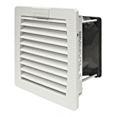 Ventilator cu filtru IP54, 230VAC, 25mc/h, 109x109x62mm