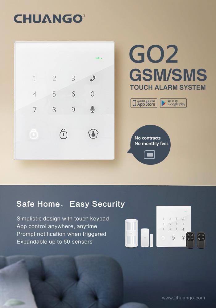 GSM Alarm GO2